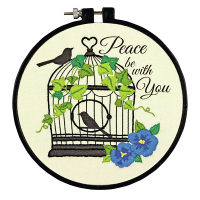 Dimensions - Crewel Embroidery Kit - Learn-a-Craft - Birdcage - D72-73824