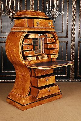Extremely rare Vienna Biedermeier Style fall front Secretaire Pinewood