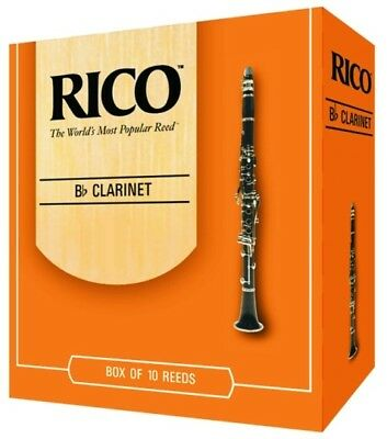 NEW! Rico Reeds for Clarinet and Saxophone Variation Strengths!
