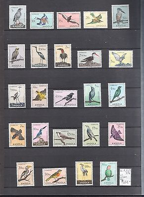 ANGOLA BIRDS SCOTT#333/50  MINT NEVER HINGED RARE, see images for condition !