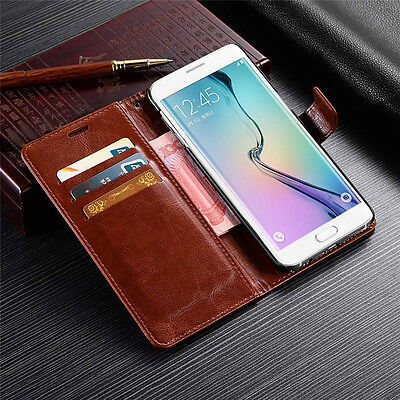 For Samsung Galaxy J3 J5 J7 2017 A8 2018 Magnetic Flip Leather Wallet Case Cover