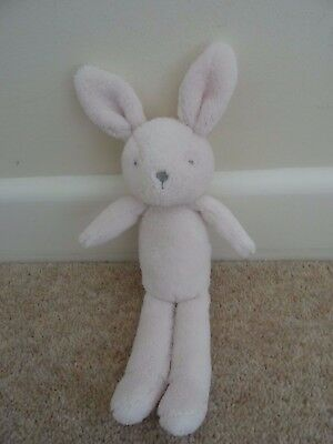 Mothercare Pink My First Bunny Rabbit With Love & Kisses Soft Toy Baby Comforter