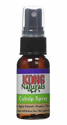 Kong Naturals Catnip Spray Cat Toy Play Happy Relax North American Bottle 30ml