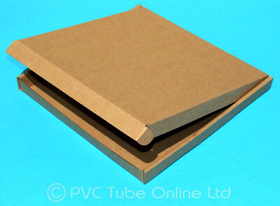 A4 Wide Square Large Letter Royal Mail Postal Box Cardboard Pizza Style Package