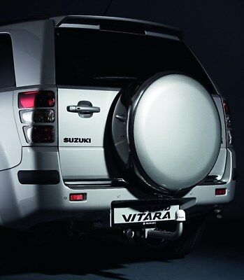 Genuine Suzuki GV GRAND VITARA Hard Spare Wheel Cover Case Chrome 990E0-65J94