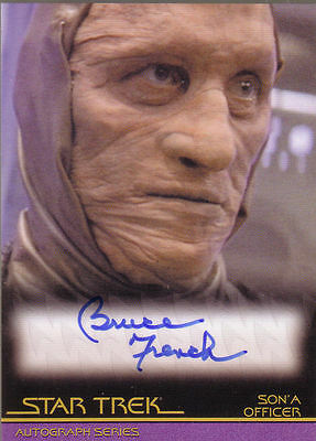 Star Trek Quotable Movies A85 Bruce French auto