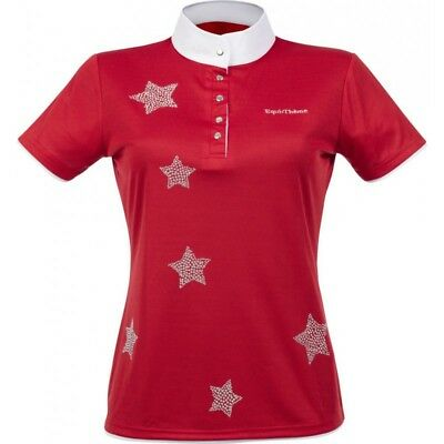 """Equi-Theme """"Etoiles"""" Stars Childs Competition Shirts Short Sleeved"""
