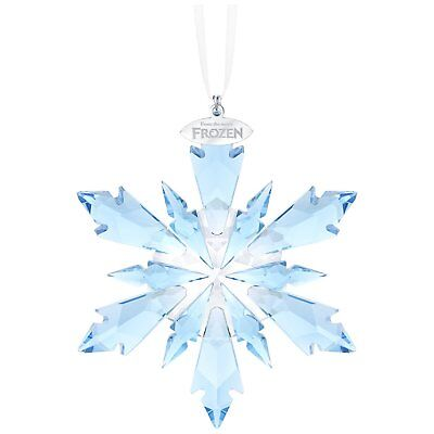 Swarovski  DISNEY FROZEN SNOWFLAKE ORNAMENT 5286457 New 2017