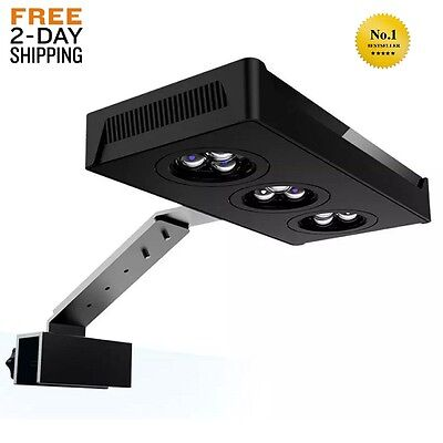 Touch Control Dimmable Led Aquarium Light Full Spectrum Reef Marine Coral Lamp