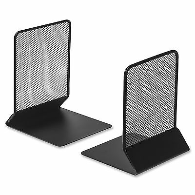 Black Mesh Bookends (Set of 2)