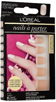 3x L'Oreal Paris Nails a Porter, French Touch Number 001