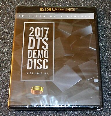 2017 CES DTS Demo Disc: 2 Discs - BluRay Disc and 4K UHD Disc. Very rare.