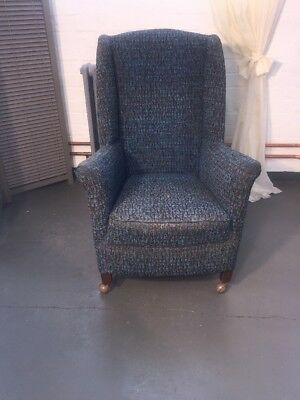 Vintage 1920s 1930s Arm Chairs / High Back Wing Chairs- Useable or Project