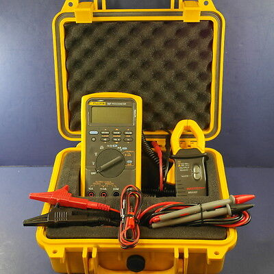 Fluke 787 Processmeter, Very Good condition, Bonus CLAMP, Hard Case