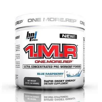 BPI Sports 1MR One More Rep Ultra Concentrated Pre-Workout 28 Servs All Flavor