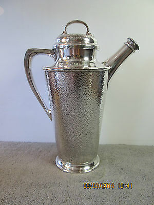 Vintage REED & BARTON Silverplate Cocktail Shaker