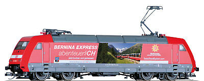 "Tillig 02316 - TT - Electric Locomotive BR 101 192-5 "" Bernina Express "" DB AG -"