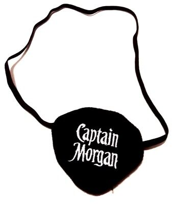 Captain Morgan Eye Patch Great for Halloween
