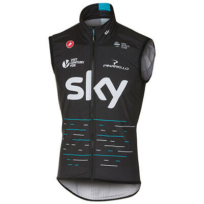 Man Team Cycling Vests Cycling Windproof Vest Bike Sleeveless Jersey Wind Vest