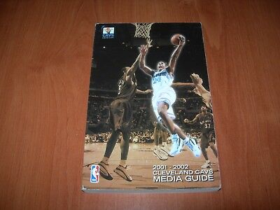 Cleveland Cavaliers 01/02 Nba Media Guide