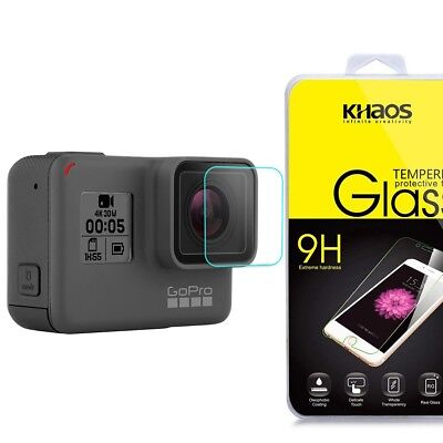 Khaos For GOPRO HERO5 Camera Lens Tempered Glass Screen Protector