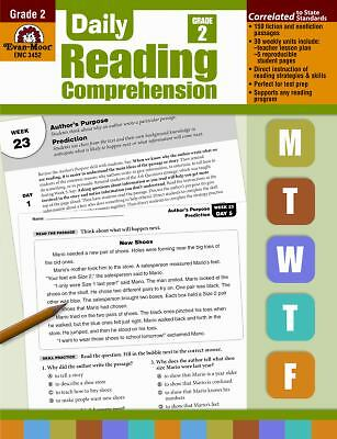 Daily Reading Comprenesion, Grade 2 (Paperback or Softback)