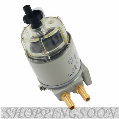 Diesel Fuel Filter / Water Separator For R12T Marine Spin-on Housing 120 AT
