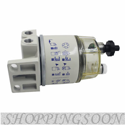 Easy to install White Diesel Fuel Filter / Water Separator For R12T