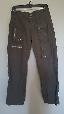 NEW PETE and GRETA CARGO PANTS size 2 - Army green color