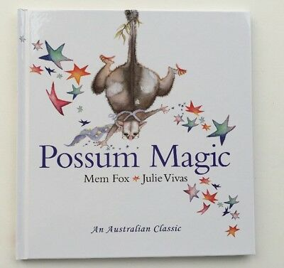POSSUM MAGIC Story Book Hardcover Classic Australian Tale by Mem Fox Julie Vivas