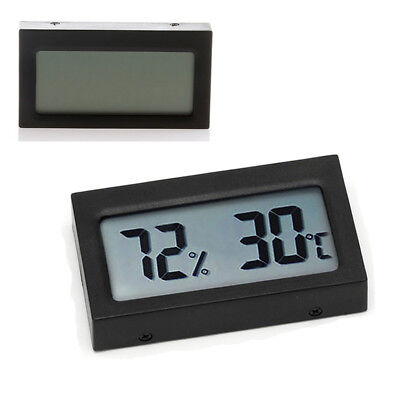 Small Size Digital LCD Thermometer Hygrometer Humidity Temp Meter Measuring