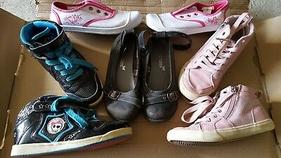 lot chaussures fille pointure 31