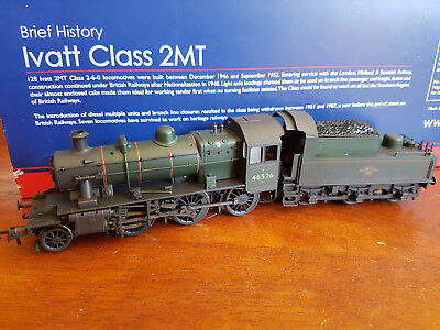 Bachmann Ivatt 2P 46526 Factory Weathered Excellent Condition Boxed Oo Gauge(Ch)