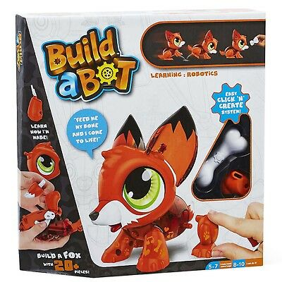 Build A Bot Fox Educational Robot Building Toy Play Set