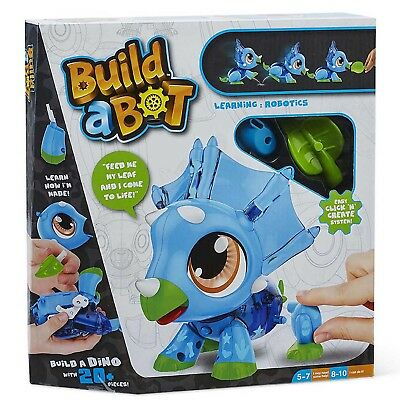 Build A Bot Dino Educational Robot Building Dinosaur Toy Play Set