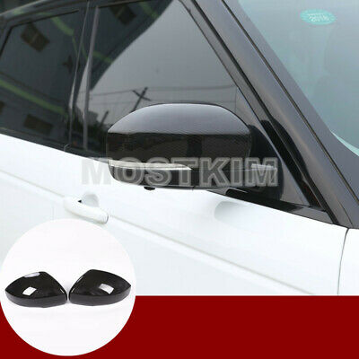 Carbon Fiber Style Rearview Mirror Cover For Land Rover Range Rover Sport(14-19)