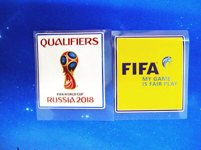 2018 Set Of FIFA  Russia World Cup Qualifiers  Pièce Parche Toppa Badge/Patch NE