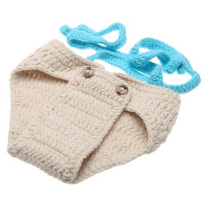 Baby Bow Tie Suspender Hat Suit for 0-6 Month Newborn D4F2