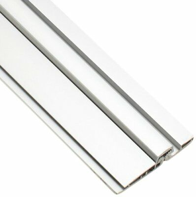 "Standard Duty Full Surface Center Pivot Hinge, Clear Anodized Aluminum, 83"" L"