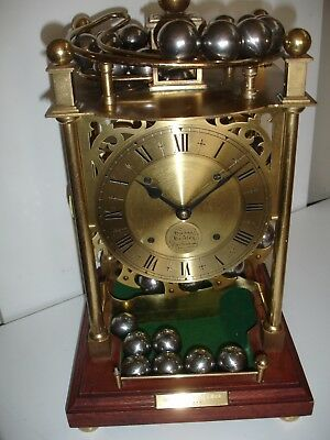 Sinclair And Harding Rolling Ball Spherical Weight -Gravity-   Clock