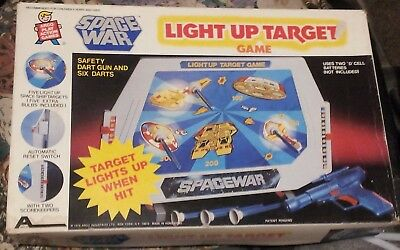 SPACE WAR LIGHT UP TARGET GAME by ARCO PLAY ACTION GAMES