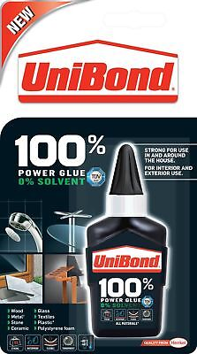 UniBond 100 Percent Power Glue Bottle 50 g Very Strong QUICK Delivery UK Fast *