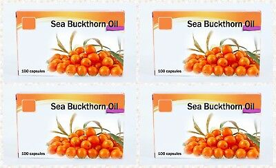 Sea Buckthorn Oil in capsules Natural Source of Omega-7 100 300 500 tab.