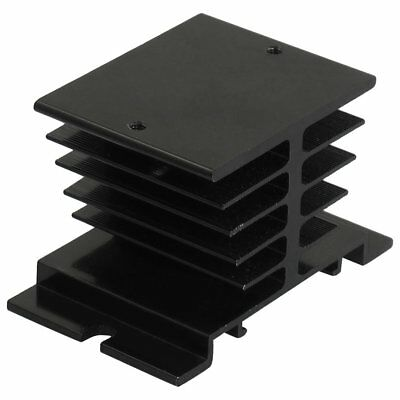 Aluminum Heat Sink 80mm x 50mm x 50mm for Solid State Relay SSR N6R5