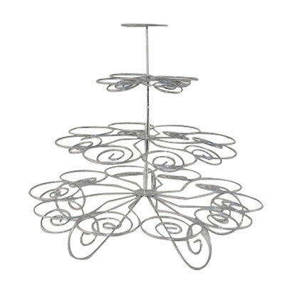 Hot sales 4 Tiers 23 cups hold cupcake stand  BF