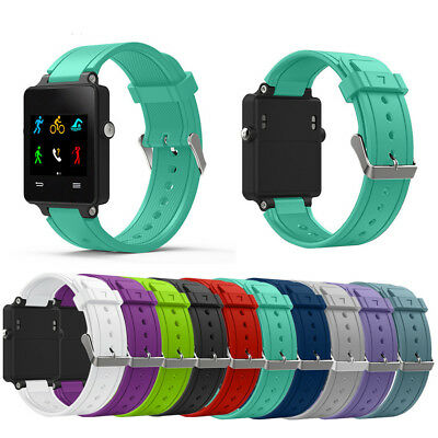For Garmin Vivoactive Smart Watch Silicone Band Wrist Straps Tool Replacement ZM