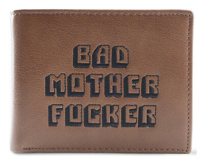 Bad Mother Fucker wallet - Straight from the movies! 100% Real Leather