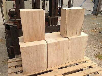 Huge Solid OAK cube / stool / plinth / 300x300mm block