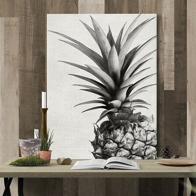 Bedroom Wall Art Decor Canvas Painting Pineapple Picture Unframed Ready Hang