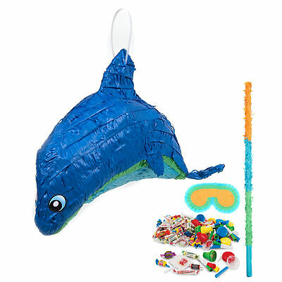 Tropical Dolphin Pinata Kit